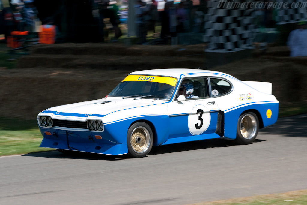 Ford Capri RS - Chassis: GAECNA19997 - Entrant: Shaun Lynn - Driver: Jochen Mass - 2009 Goodwood Festival of Speed