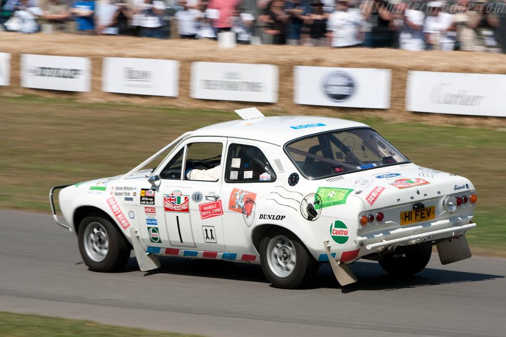 Ford Escort MkI    - 2009 Goodwood Festival of Speed