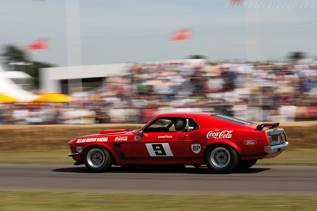 Ford Mustang Boss 302    - 2009 Goodwood Festival of Speed