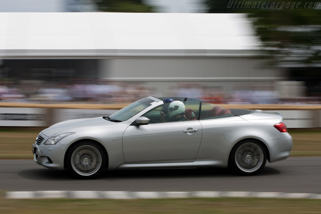 Infiniti G37 Convertible    - 2009 Goodwood Festival of Speed