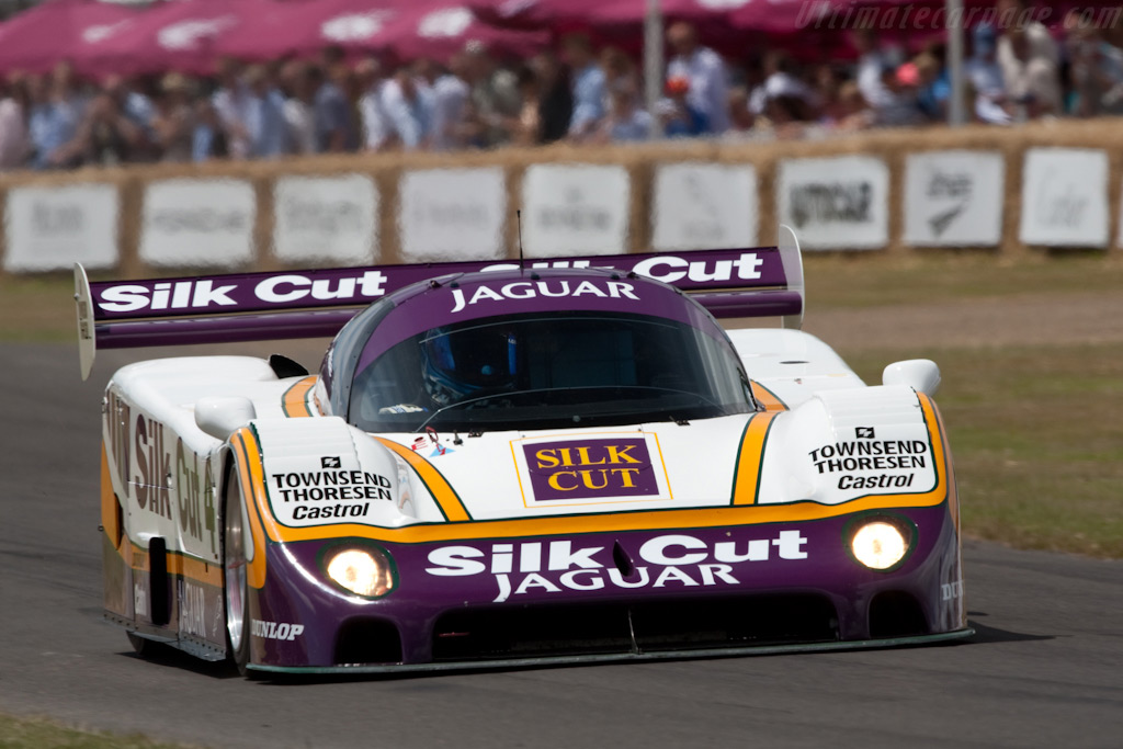 Jaguar XJR-8 - Chassis: J12-C-287 - Driver: Justin Law  - 2009 Goodwood Festival of Speed