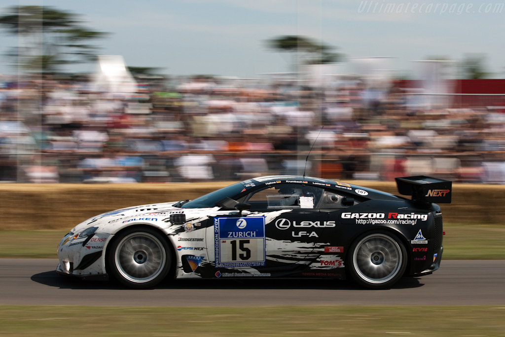 Lexus LF-A    - 2009 Goodwood Festival of Speed