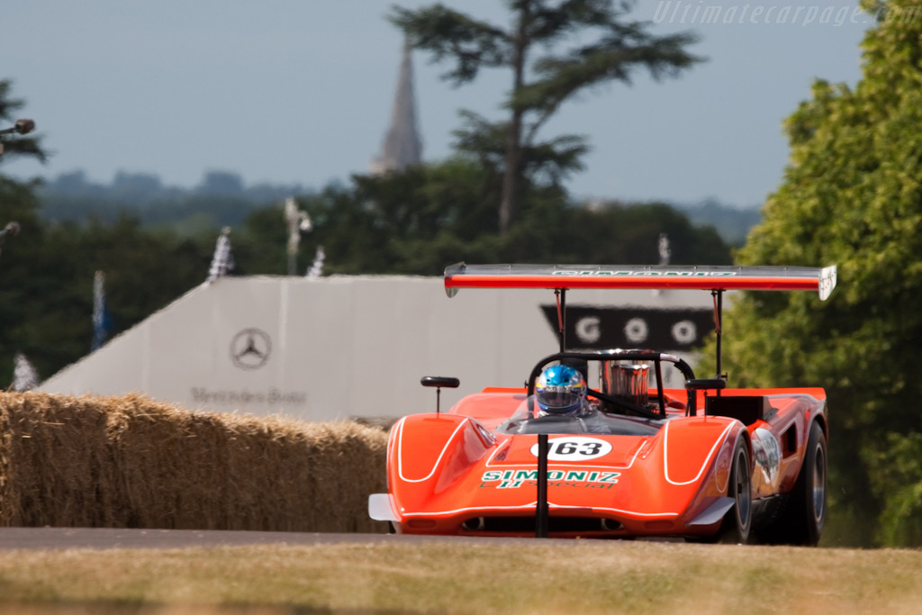 Lola T163 Chevrolet - Chassis: SL163/15 - Driver: Don Bell  - 2009 Goodwood Festival of Speed