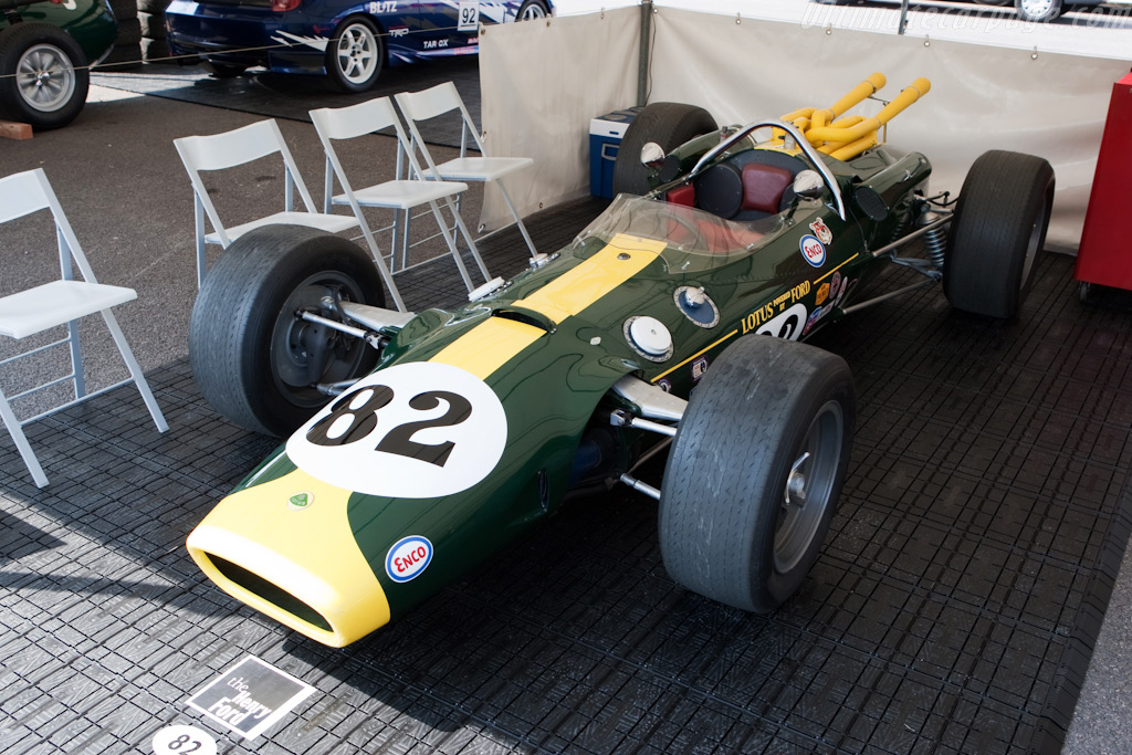 Lotus 38 - Chassis: 38/1 - Entrant: The Henry Ford Museum  - 2009 Goodwood Festival of Speed
