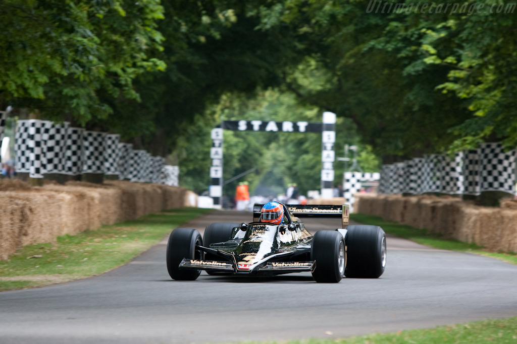 Lotus 79 Cosworth - Chassis: 79/3   - 2009 Goodwood Festival of Speed