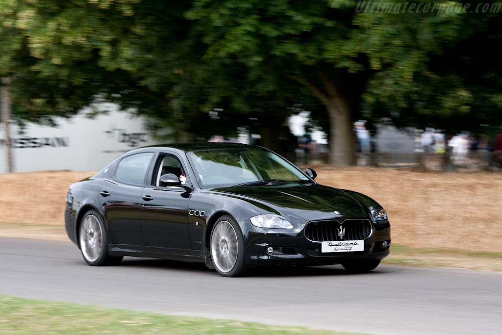 Maserati Quattroporte Sport GT S    - 2009 Goodwood Festival of Speed