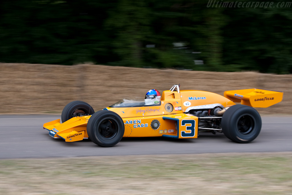 McLaren M16C - Chassis: M16C/5 - Driver: Johnny Rutherford  - 2009 Goodwood Festival of Speed