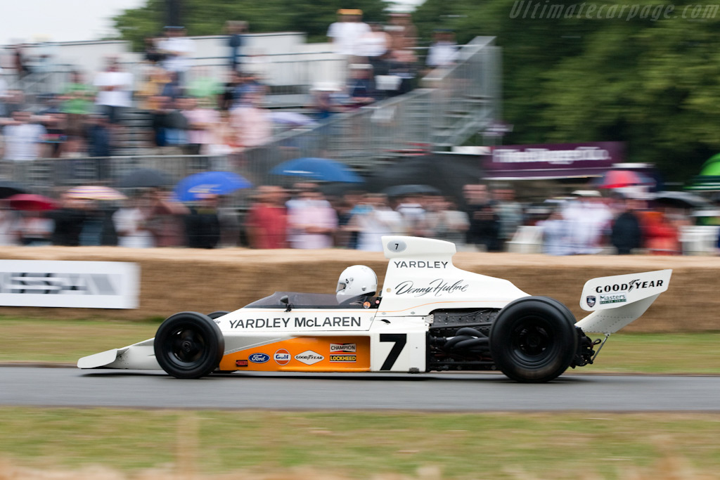 Mclaren M23 Cosworth Chassis M23 1 2009 Goodwood Festival Of Speed