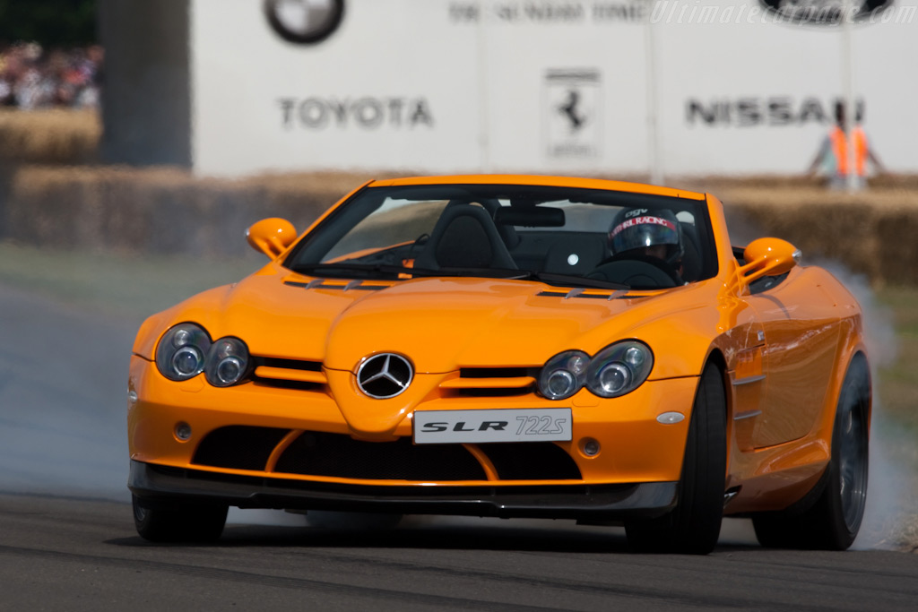 Mercedes-Benz SLR McLaren 722 S    - 2009 Goodwood Festival of Speed