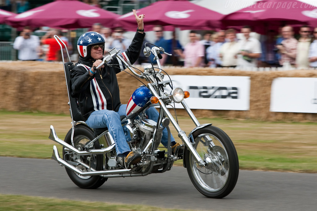 Peter 'Easy Rider' Fonda    - 2009 Goodwood Festival of Speed