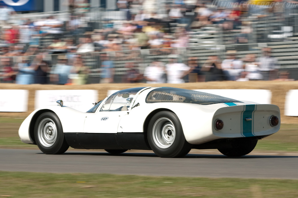 Porsche 906 - Chassis: 906-144 - Driver: Julian Mazjub  - 2009 Goodwood Festival of Speed