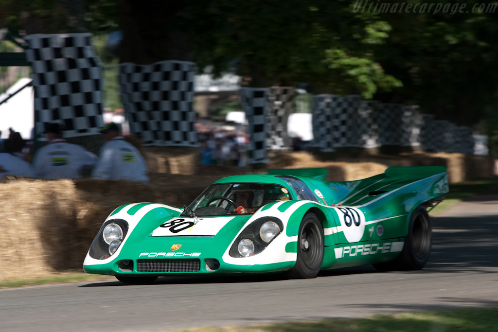 Porsche 917K - Chassis: 917-010   - 2009 Goodwood Festival of Speed