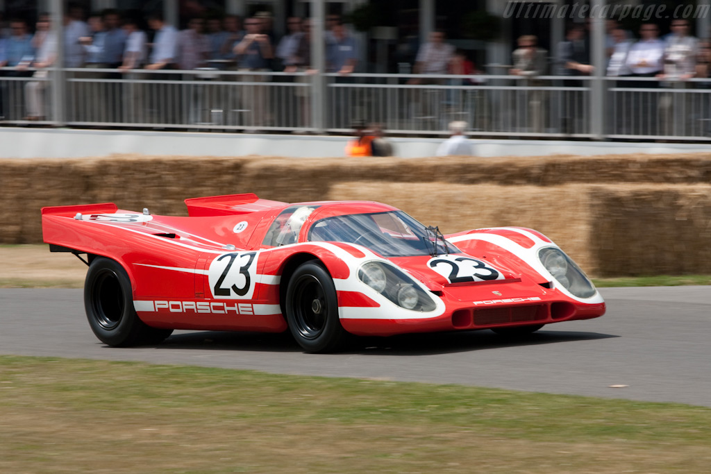 Porsche 917K - Chassis: 917-001   - 2009 Goodwood Festival of Speed