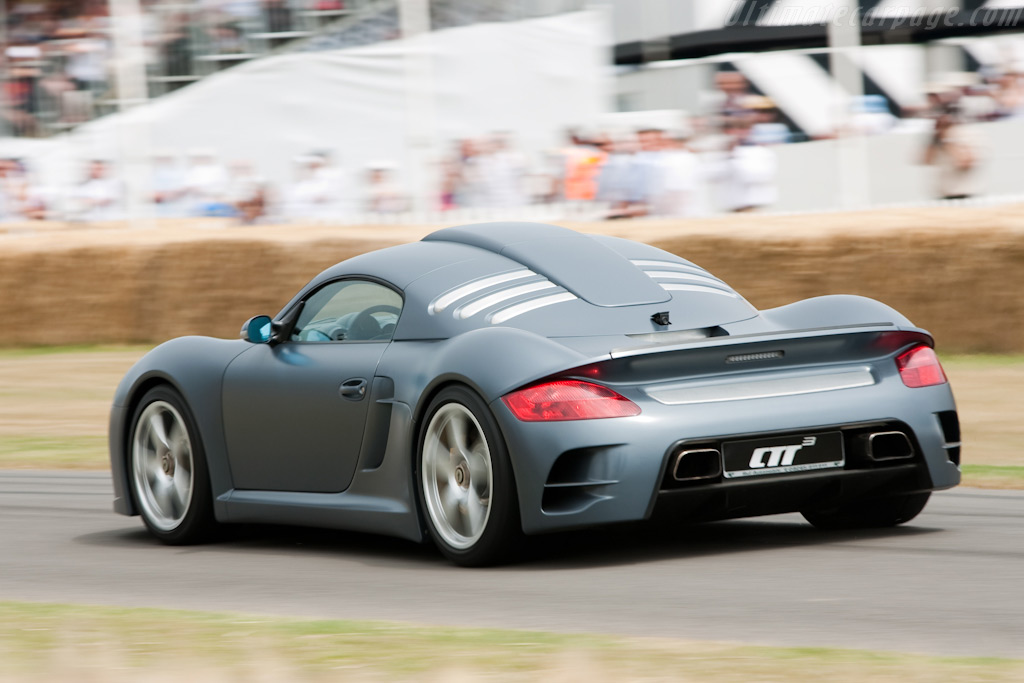 Ruf CTR3    - 2009 Goodwood Festival of Speed