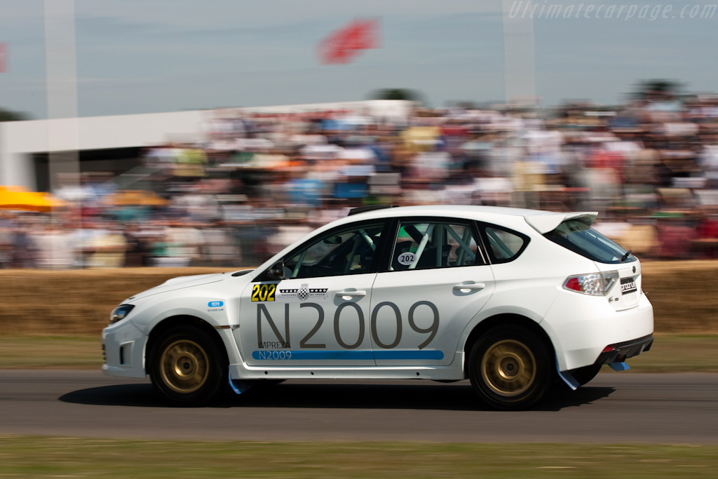 Subaru Impreza N2009    - 2009 Goodwood Festival of Speed
