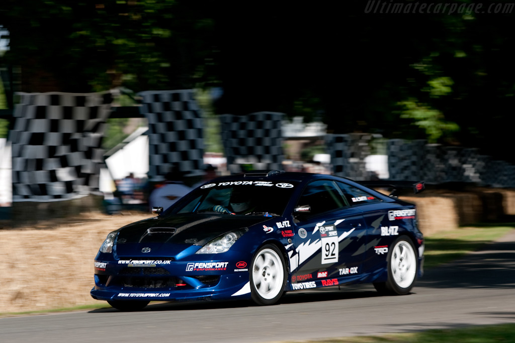 Toyota Celica    - 2009 Goodwood Festival of Speed