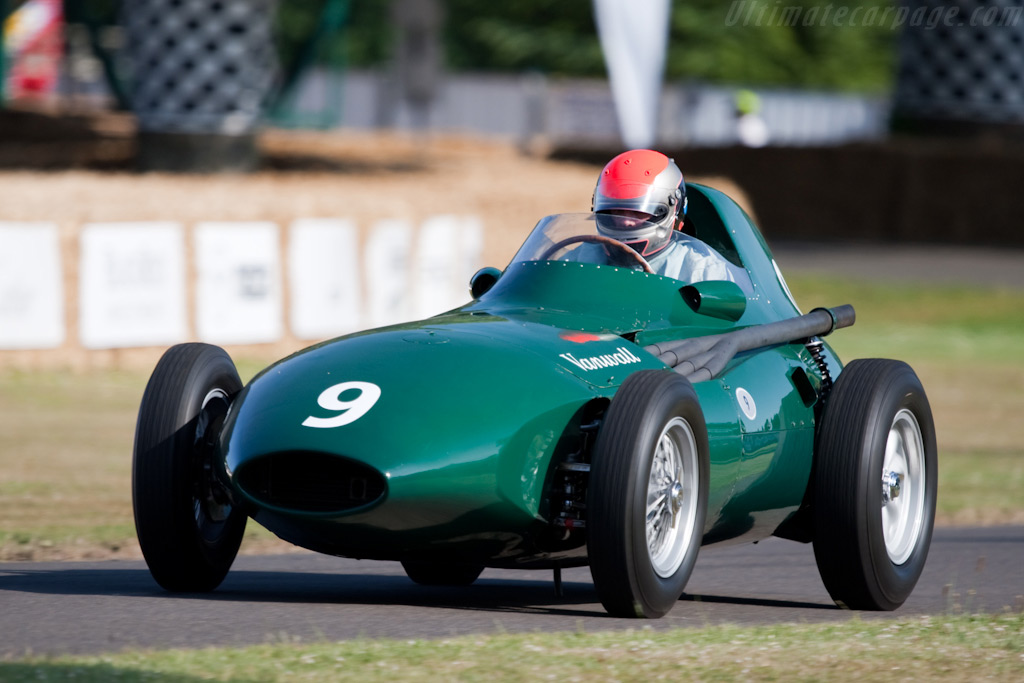 Vanwall - Chassis: VW11 - Driver: Rick Hall  - 2009 Goodwood Festival of Speed