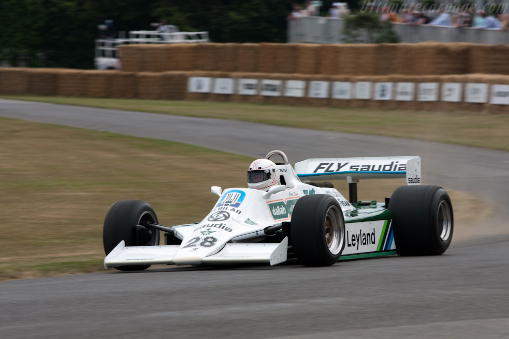 Williams FW07B Cosworth - Chassis: FW07B/07 - Driver: Peter Dunn  - 2009 Goodwood Festival of Speed