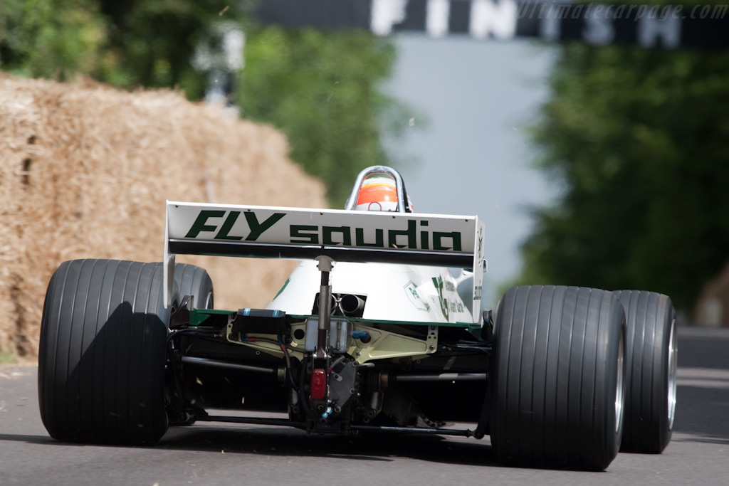 Williams FW08 Cosworth - Chassis: FW08-02 - Entrant: Williams F1 - Driver: Nico Hulkenberg  - 2009 Goodwood Festival of Speed