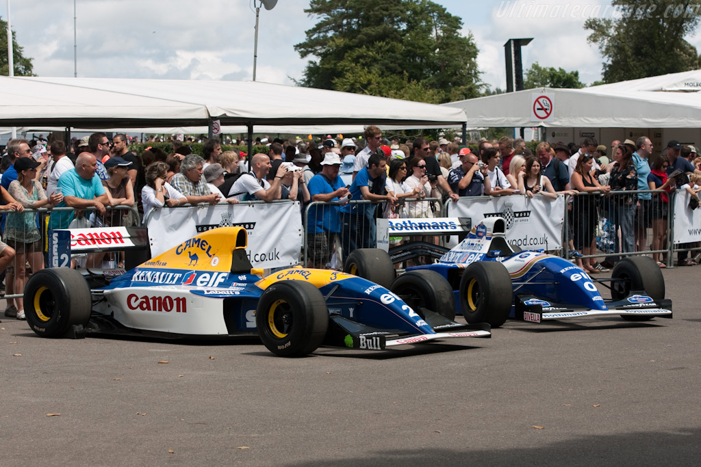 Williams FW15C Renault - Chassis: FW15C-2   - 2009 Goodwood Festival of Speed