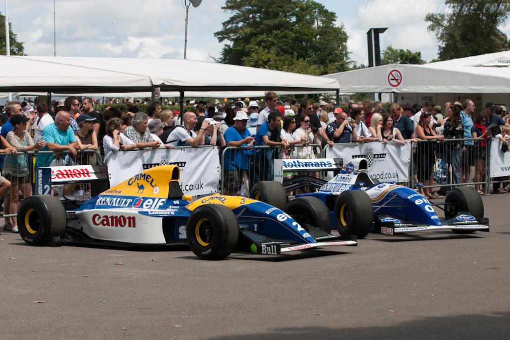 Williams FW15C Renault    - 2009 Goodwood Festival of Speed