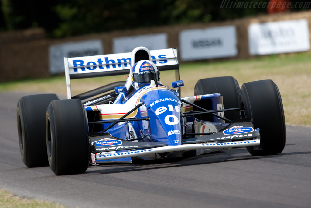 Williams FW16B Renault - Chassis: FW16/05 - Driver: David Coulthard  - 2009 Goodwood Festival of Speed