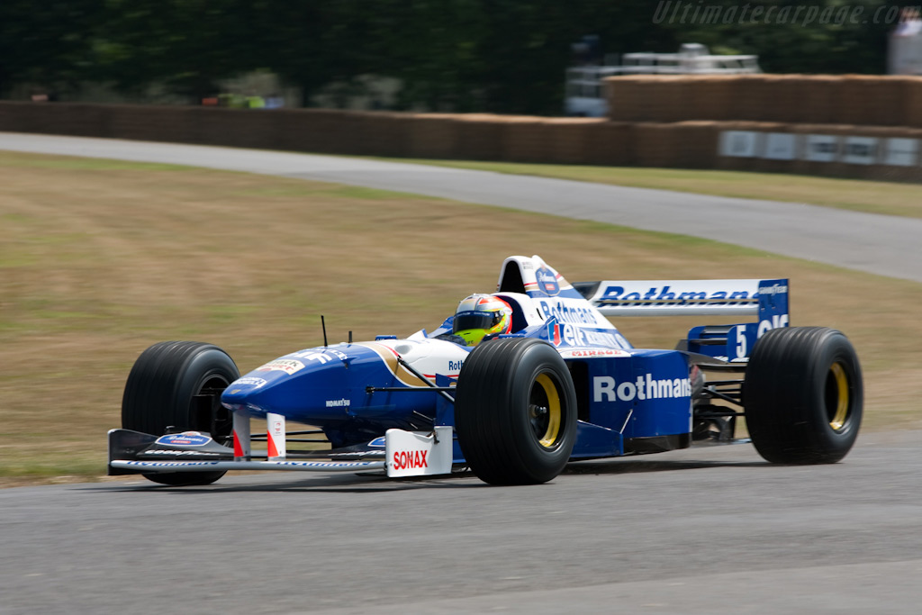 Williams FW18 Renault    - 2009 Goodwood Festival of Speed