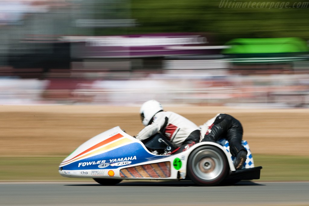 Windle Yamaha    - 2009 Goodwood Festival of Speed