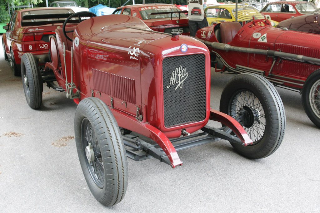 Alfa 40/60hp Corsa    - 2010 Goodwood Festival of Speed