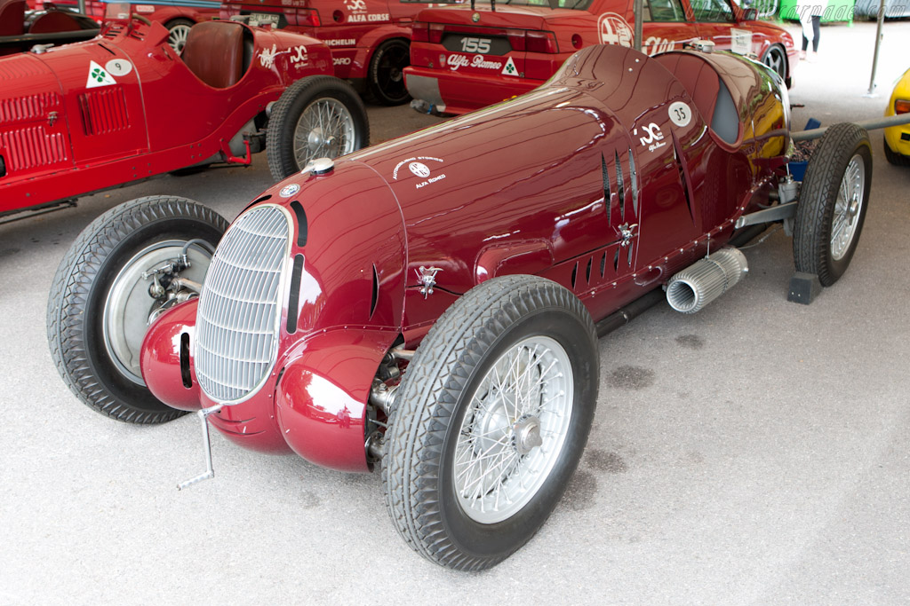Alfa Romeo 12C 36 - Chassis: 50012   - 2010 Goodwood Festival of Speed