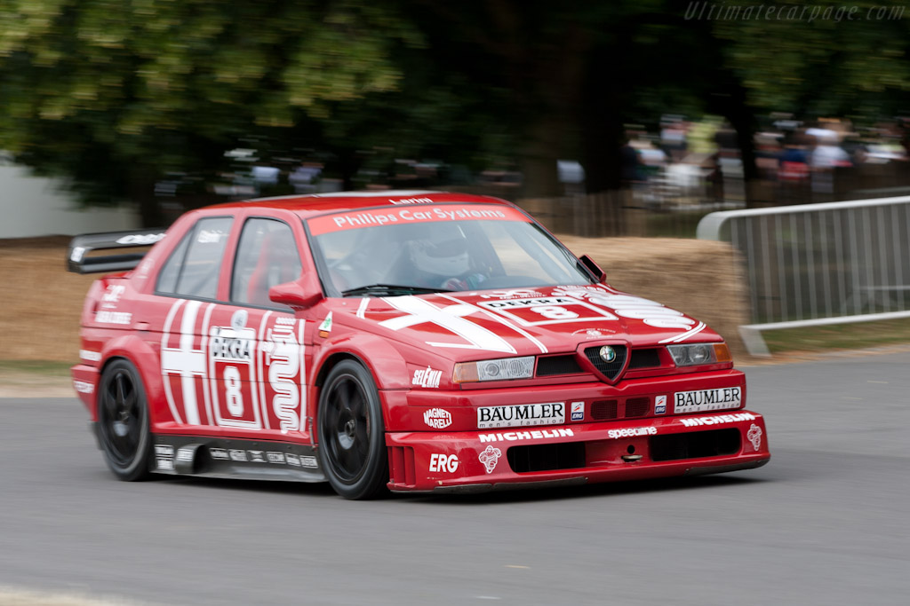 Alfa Romeo 155 DTM - Chassis: AC05   - 2010 Goodwood Festival of Speed