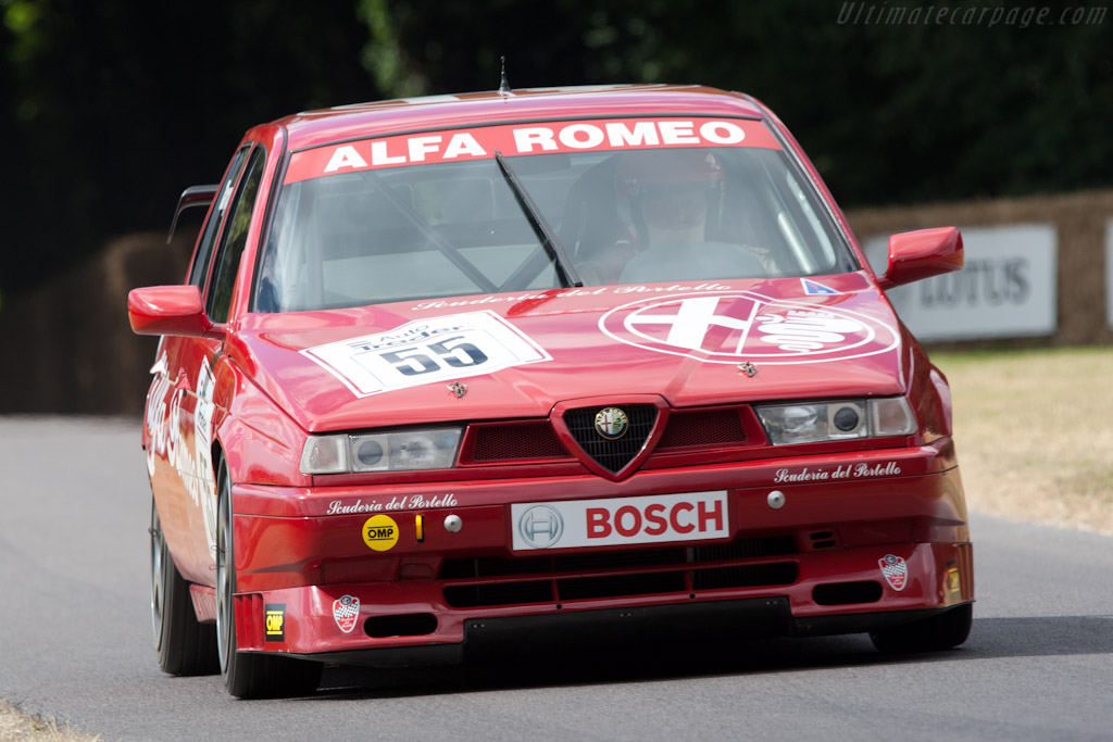 Alfa Romeo 155 TS BTCC    - 2010 Goodwood Festival of Speed