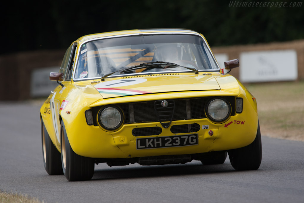 Alfa Romeo 1600 GTAm    - 2010 Goodwood Festival of Speed