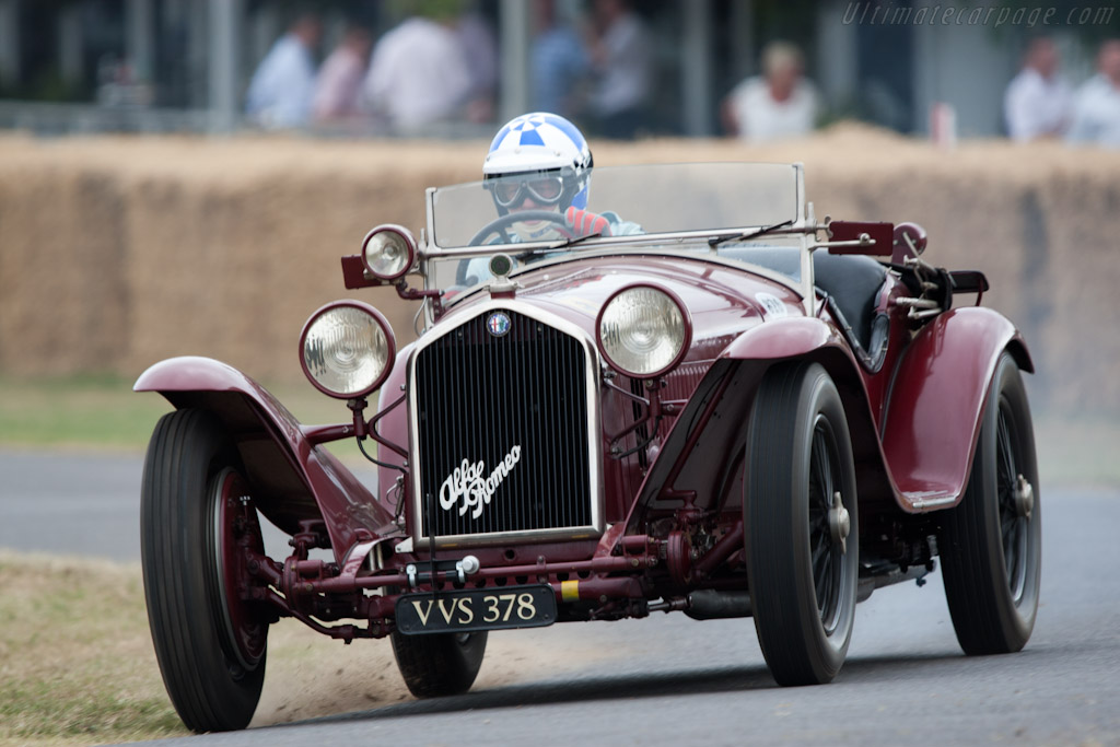 Alfa Romeo 8C 2300 Touring Spider    - 2010 Goodwood Festival of Speed