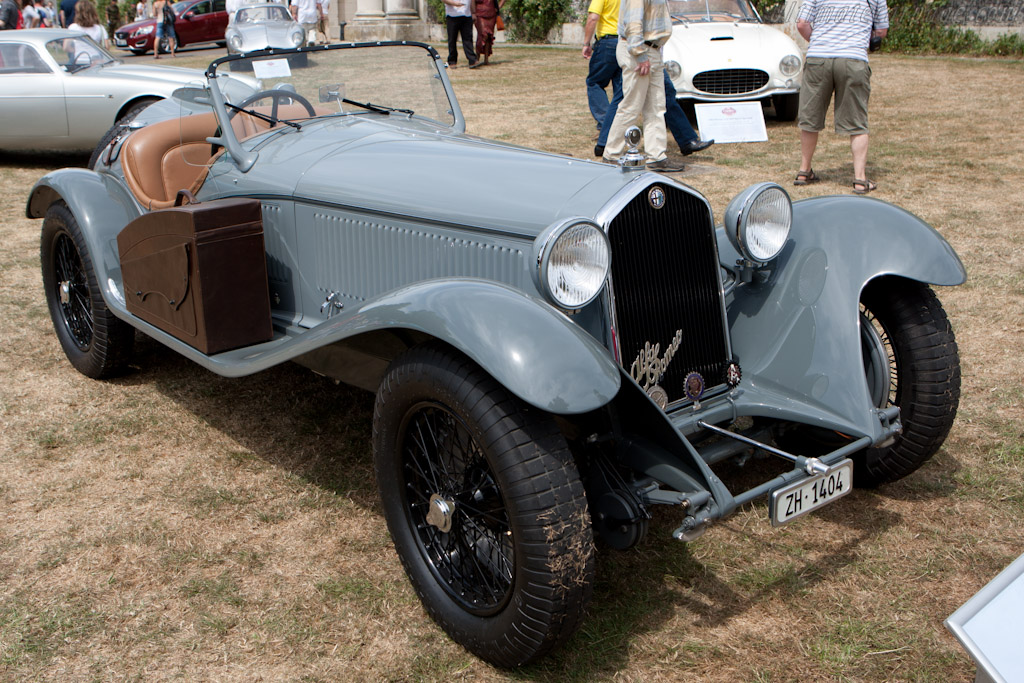 Alfa Romeo 8C 2300 Touring Spider - Chassis: 2211096   - 2010 Goodwood Festival of Speed