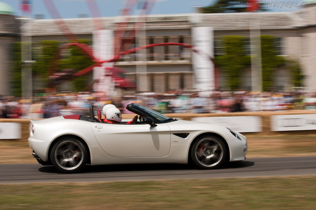 Alfa Romeo 8C Spider    - 2010 Goodwood Festival of Speed