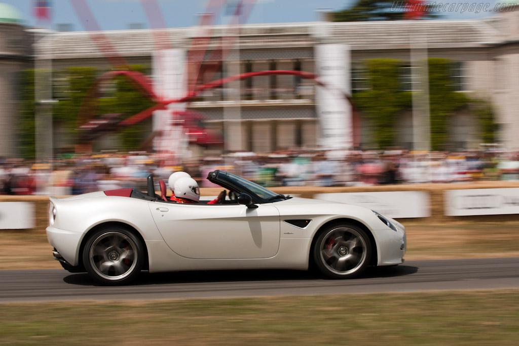 Alfa Romeo 8C Spider    - 2010 Goodwood Festival of Speed