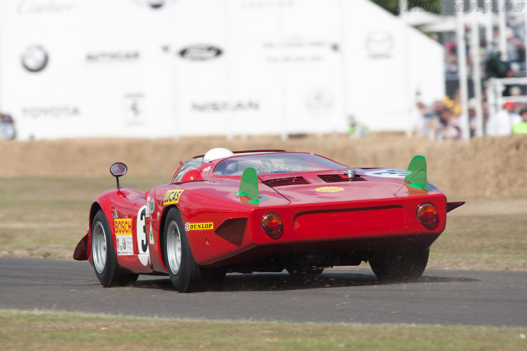 Alfa Romeo Tipo 33/2 Le Mans - Chassis: 75033.017   - 2010 Goodwood Festival of Speed