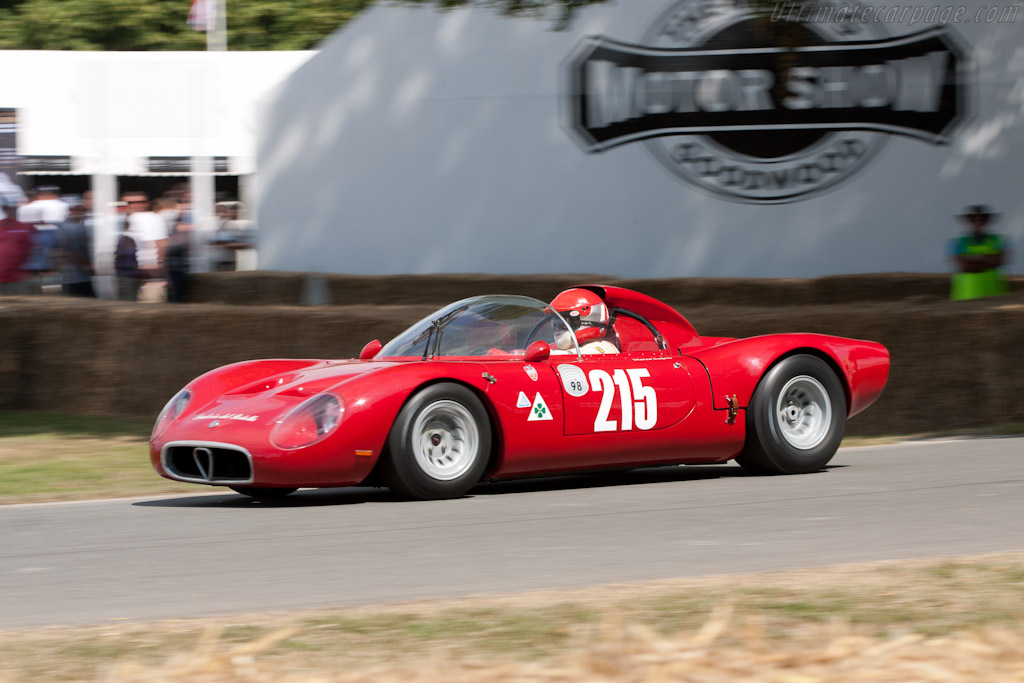 Alfa Romeo Tipo 33 Periscopica    - 2010 Goodwood Festival of Speed