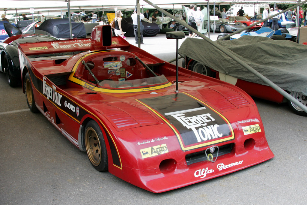 Alfa Romeo Tipo 33 SC12 - Chassis: 11512.016  - 2010 Goodwood Festival of Speed