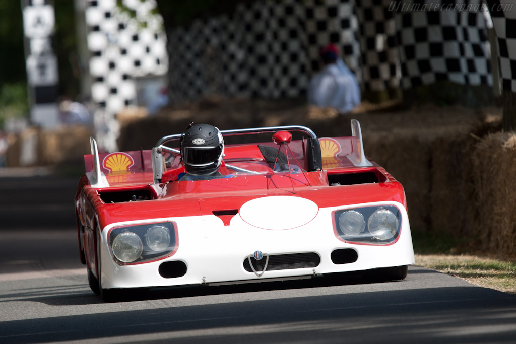 Alfa Romeo Tipo 33 TT3 - Chassis: 11572-002  - 2010 Goodwood Festival of Speed