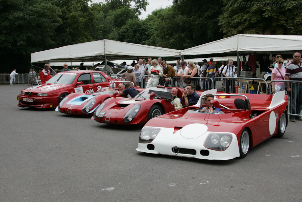 Alfa Romeo Tipo 33s    - 2010 Goodwood Festival of Speed