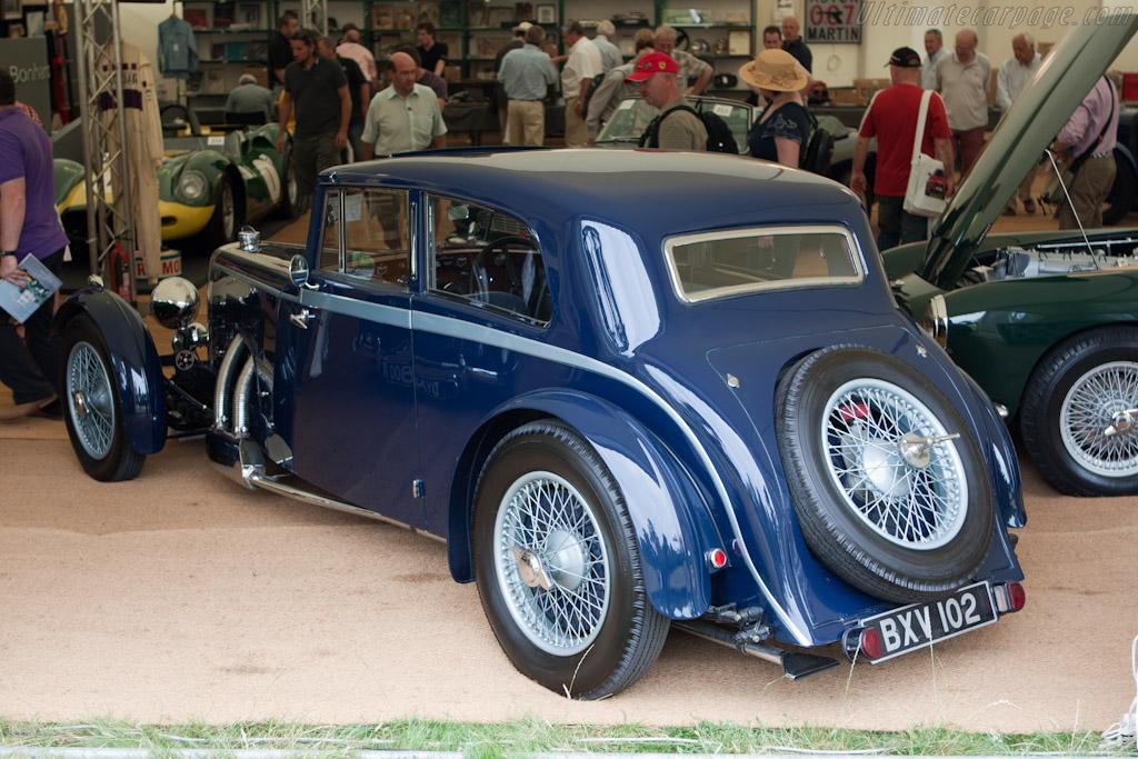 Aston Martin Mark II Sports Saloon - Chassis: K4/513/L  - 2010 Goodwood Festival of Speed