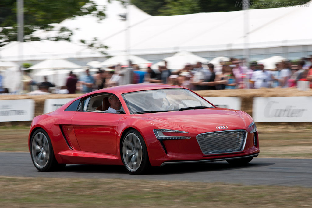 Audi e-Tron    - 2010 Goodwood Festival of Speed