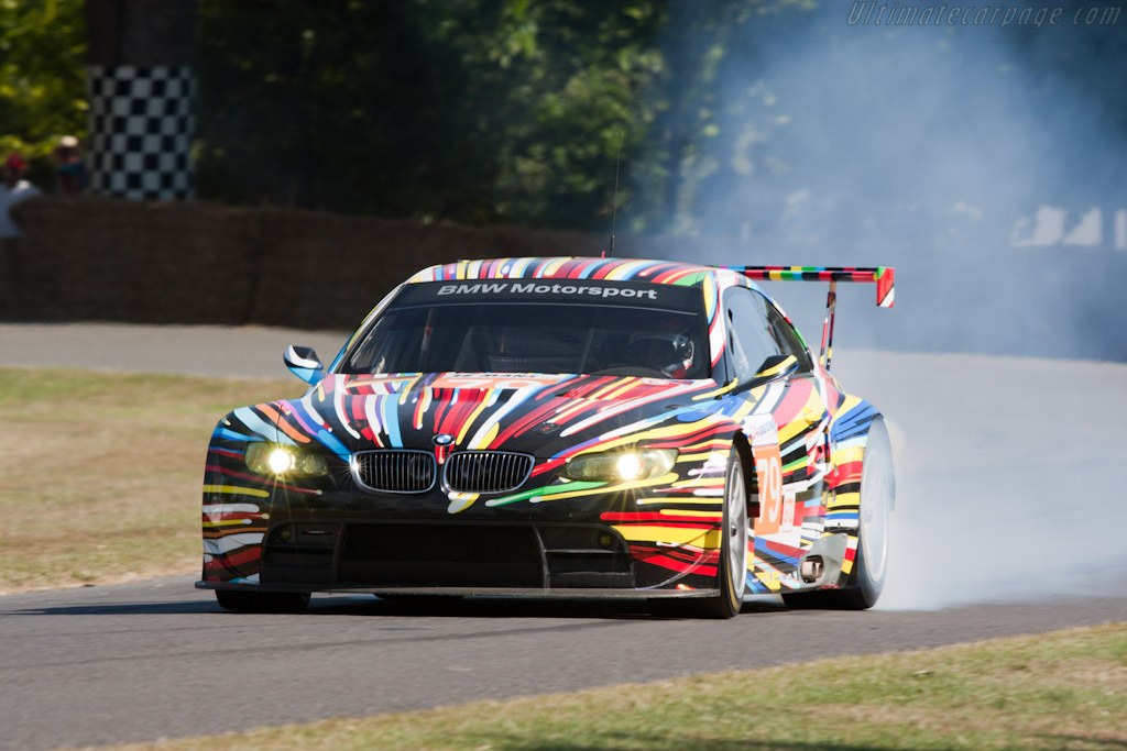 BMW M3 GT2 'Art Car' - Chassis: 1002   - 2010 Goodwood Festival of Speed