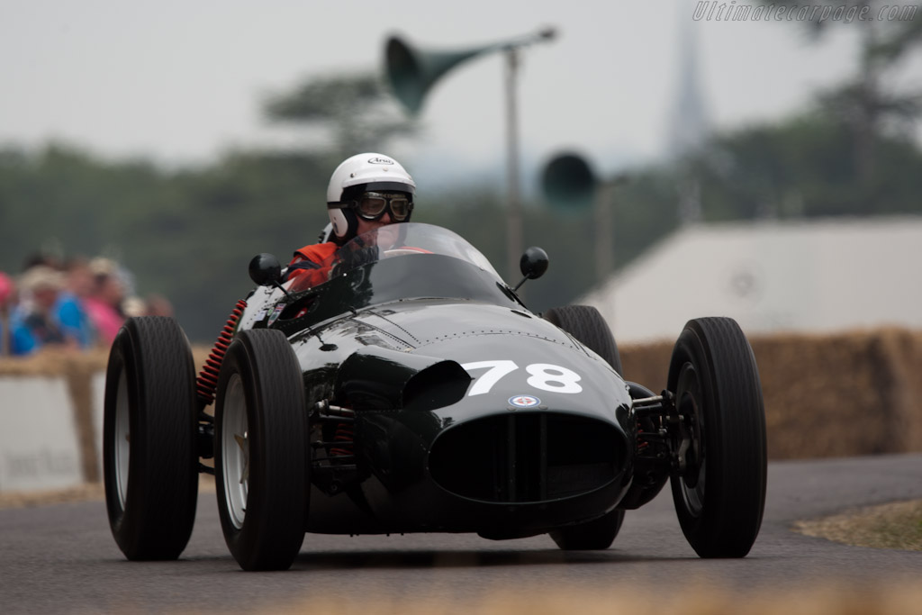 BRM P25    - 2010 Goodwood Festival of Speed