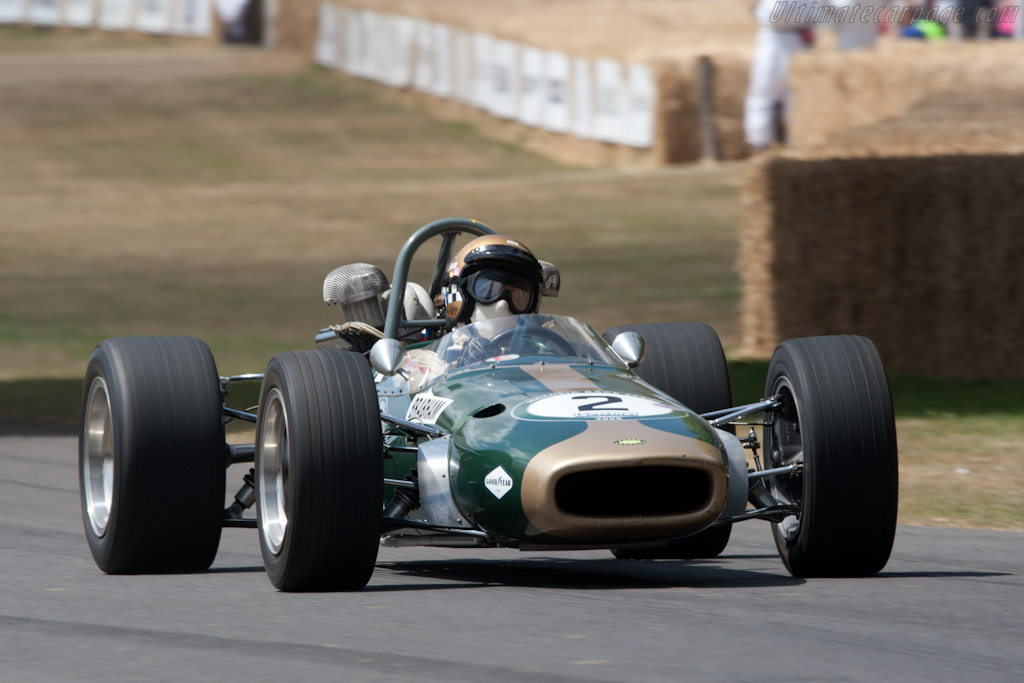 Brabham BT24 Repco - Chassis: BT24-3-R   - 2010 Goodwood Festival of Speed