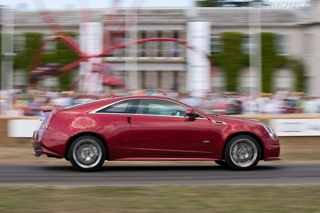 Cadillac CTS-V Coupe    - 2010 Goodwood Festival of Speed