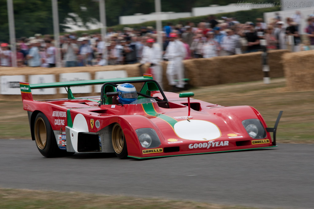 Ferrari 312 PB - Chassis: 0890 - Driver: Paul Knapfield  - 2010 Goodwood Festival of Speed
