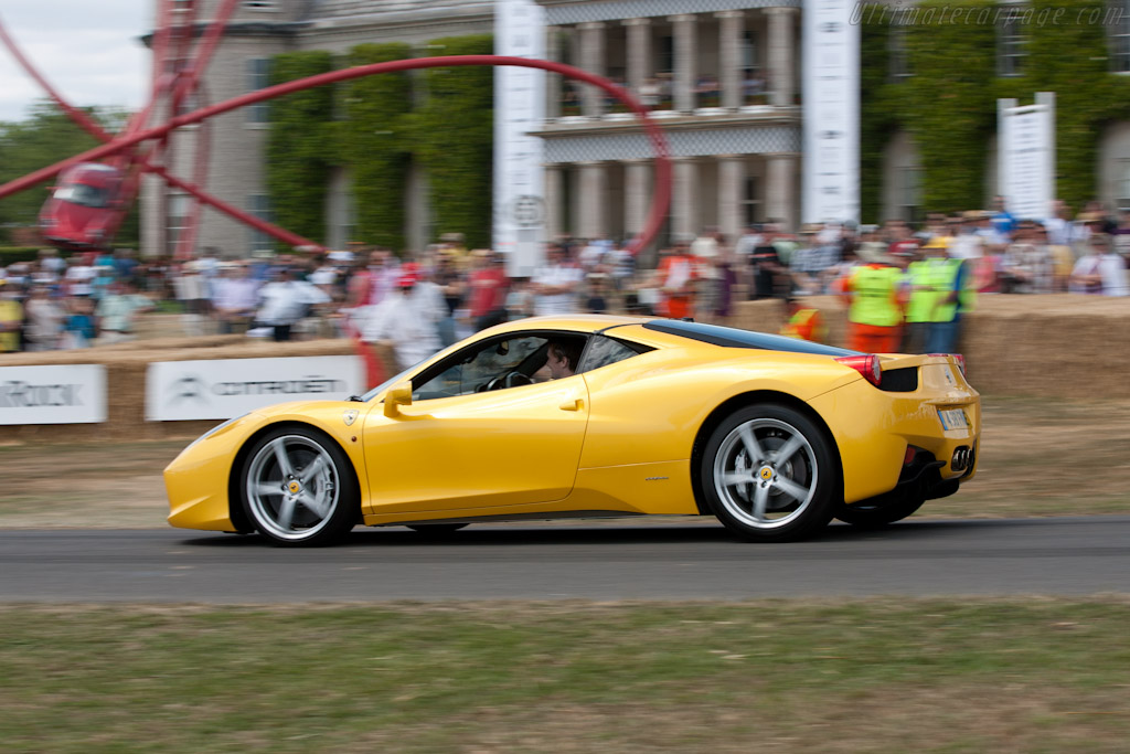 Ferrari 458 Italia   - 2010 Goodwood Festival of Speed